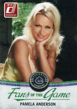 2010-11 DONRUSS FANS OF THE GAME PAMELA ANDERSON