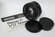 Carl Zeiss Planar T* 1,7 / 50 mm Objektiv für Contax / Yashica MM Version in ovp