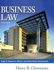 Business Law : Legal, E-Commerce, Ethical, and International Environments by Hen