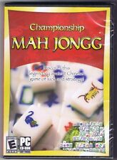 Championship Mah Jongg --- PC Game 2009 --- New Sealed - Free USA Shipping!
