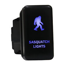 12V Push switch 8B20B Sasquatch Lights Led blue For Toyota 4Runner Tacoma laser