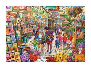 Gardeners Delight by Tony Ryan Sealed 500 XXL Piece Gibsons Jigsaw Puzzles
