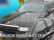 BUICK ROADMASTER 4/5-portes 1991-1996 Deflecteurs de vent 2-pcs HEKO Bulles