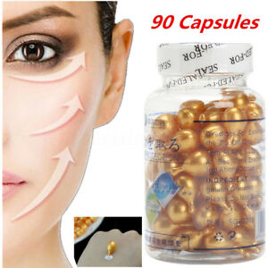 New Vitamin E Oil For Face 90 CAPSULES Anti Wrinkle Acne Cream Soothing Skin
