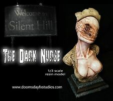 The Silent Hill Dark Nurse, Painted, Horror Movie Collectible Statue.