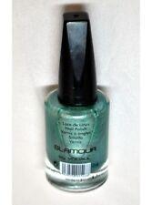 Vernis à ongles Vert bleu 849 pailletté Glamour YOLIZUL FASHION