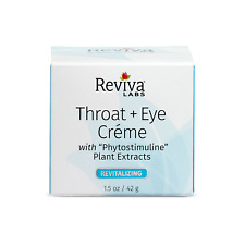 Reviva Labs Throat and Eye Creme w/ Phytostimuline Plant Extracts New Packaging!
