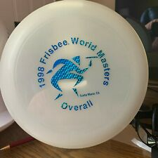 Wham-o Frisbee 165 G 82E mold 1998 World Masters overall prismatic stamp