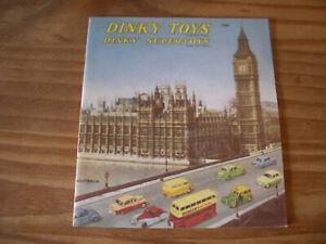 DINKY TOYS 1958 CATALOGUE - very good