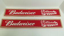 New Budweiser Beer Bar Mat Pint Glass Kegerator Tap Spill Beer Mat
