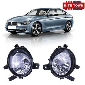 Pair Fog Lights For BMW 12-15 F30 3 Series Sedan 320i 325i 328i 335i 428i 435i