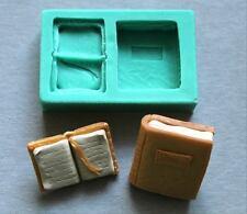 Silicone Mould BOOKS Sugarcraft Cake Decorating Fondant/fimo mold