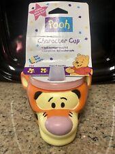 Disney's Tigger Kids Spill Resistant Spout Lip 3D Cup. Applause NEW