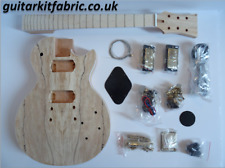 Electric Guitar kit - LP deluxe Gold hardware, mahogany with spalted maple top