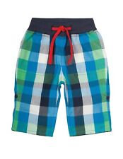 ** Frugi Check Roll Up Trousers - 12-18m  **