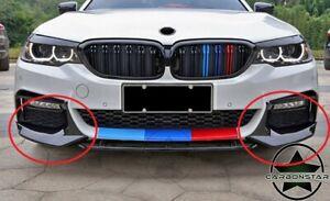 Cstar ABS Splitter Flaps Frontlippe V6 Hochglanz Schwarz passend für BMW G30 G31