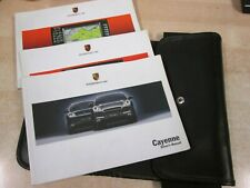 Porsche Cayenne and s models  owners  Drivers Handbook/Manual (2003-2006) + NAVP