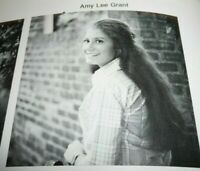 Amy Grant Senior High School Yearbook 1978  Rare