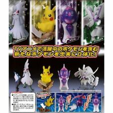 Takara Tomy Pokemon Pocket Monsters Capsule Act Ultra Sun & Moon Figure Set of 4