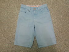 "Per Una Shorts Jeans Size 8 Leg 11"" Faded Light Blue Ladies Denim Shorts"