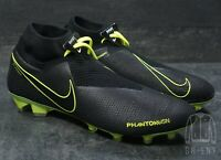 Nike Phantom Vision Elite DF FG Soccer Cleats AO3262-007 Men 8 Womens 9.5