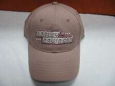 HARLEY DAVIDSON EMBROIDERED WOMENS LADIES CUTE PINK ADJUSTABLE BASEBALL CAP HAT