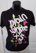 Plain White Ts Shirt Large Black Official Band T Shirt Pop Punk Retro Look Rare