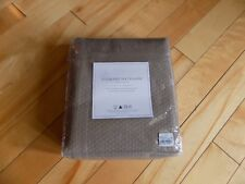 "Restoration Hardware Diamond Matelasse Prairie Cotton Shower Curtain 72""X72"""