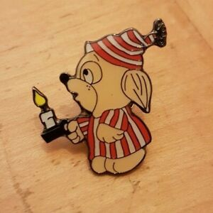 CARTOON MOUSE WITH CANDLE   B008