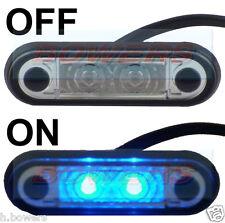 HELLA TYPE LED FLUSH FIT KELSA LIGHT BAR MARKER LAMP LIGHT 12v 24v BLUE LAML005