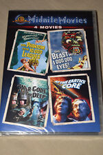 NEW MIDNITE MOVIES DVD 2-Discs 2011 MGM Vincent Price/Peter Cushing/Doug McClure