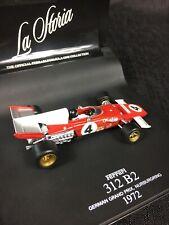 La Storia 1/43 Ferrari 312 B2 1972 F1 German Grand Prix Formula #4 Jacky Ickx
