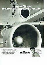 Publicité Advertising 037    Air Afrique  sur le Jumbo Jet DC 10 2