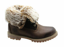 Timberland Lace Up Textile Upper Boots for Women