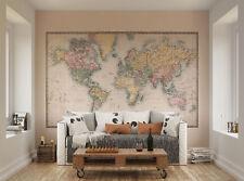 ohpopsi Historic Mapa Del Mundo Mural Para Pared