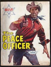 THE PEACE OFFICER Wild West Picture Library comic no. 29
