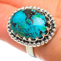 Tibetan Turquoise 925 Sterling Silver Ring Size 6.5 Ana Co Jewelry R42281F