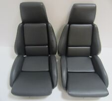 1986 corvette standard vinyl seat covers mounted on foam NEW GRAPHITE! FREE SHIP