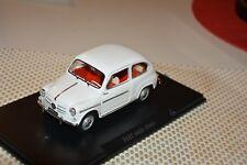 Fiat 600 D (1960) weiß Atlas 1:24