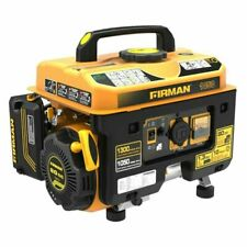 Firman P01001 1300/1050W Recoil Start Gas Portable Generator