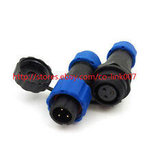 SD13 3pin Waterproof Connector, IP68 High-voltage Power Connector 380V 10A Plug