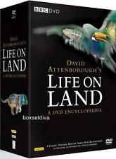 LIFE ON LAND - DAVID ATTENBOROUGH  BBC SERIES - BRAND NEW DVD BOXSET
