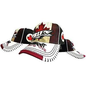 HotSpot Design Cap Piker Canada Hecht Anglerhut Angelmütze Basecap Angeln Kanada