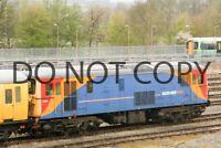UK DIESEL TRAIN RAILWAY PHOTOGRAPH OF CLASS 73 73201 LOCO. RM73-260