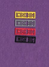New listing Word Scalloped Wish Big die cuts scrapbook cards