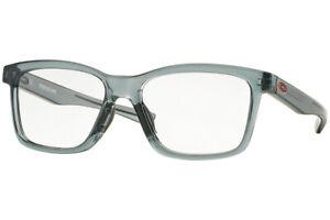 Authentic OAKLEY Fenceline Rx OX8069-806903  Eyeglasses Grey Smoke *NEW* 53 mm