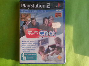 Eye Toy Chat   ps2 playstation 2 nuovo gioco game sigillato