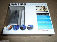 PHILIPS LAPTOP THUMBCAM 1.3 MEGA PIXEL Boxed PORTABLE WEBCAM CAMERA VIDEO PHOTO