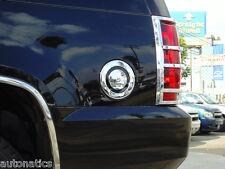 GMC YUKON DENALI SUV 2007-2014 TFP CHROME ABS FUEL GAS DOOR COVER INSERT