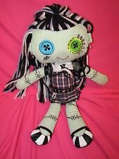 2013 Mattel Monster High Frankie Stein Plush Stuffed Toy with Tush Tag